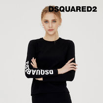 D SQUARED2 Street Style Long Sleeves Long Sleeve T-shirt Co-ord