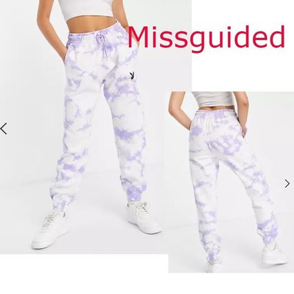 Missguided More Bottoms Casual Style Tie-dye Bottoms