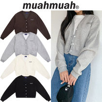 muahmuah Casual Style Unisex Street Style Long Sleeves Formal Style