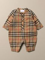 Burberry Unisex Organic Cotton Baby Girl Dresses & Rompers