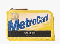 kate spade new york Card Holders Plain Leather Small Wallet Card Holders 5