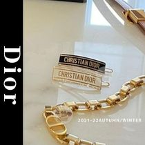 Christian Dior Barettes Casual Style Elegant Style Formal Style  Clips