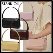 shop stand oil bags
