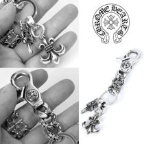CHROME HEARTS Street Style Plain Silver Watches & Jewelry