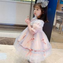 With Jewels Party Bridal Kids Girl Dresses
