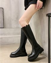 Platform Casual Style Chelsea Boots Ankle & Booties Boots