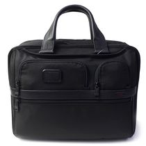 TUMI Nylon A4 2WAY Plain Leather Business & Briefcases