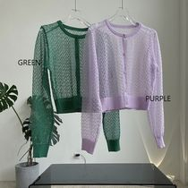 Formal Style  Short Lace-up Casual Style Nylon Long Sleeves