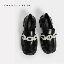 Charles&Keith Platform Casual Style Faux Fur Elegant Style Formal Style