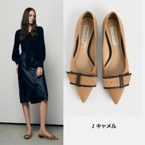 Charles&Keith Platform Casual Style Plain Block Heels Party Style