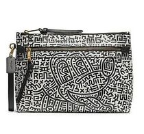 Coach Casual Style Unisex Street Style Collaboration Leather