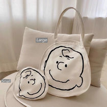Unisex Blended Fabrics Street Style Co-ord Mothers Bags