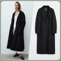 Massimo Dutti Casual Style Street Style Plain Long Office Style