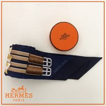 HERMES Galons et brandebourgs twilly