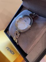 FENDI Casual Style Round Party Style Quartz Watches Stainless