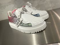 Christian Dior Rubber Sole Lace-up Logo Low-Top Sneakers