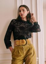 SEZANE Casual Style Long Sleeves Party Style Office Style