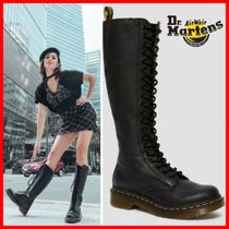 Dr Martens Casual Style Street Style Logo Boots Boots
