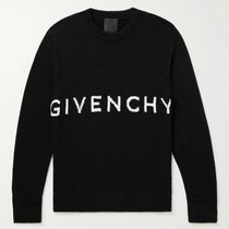 GIVENCHY Cotton Logo Luxury Sweaters