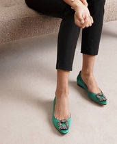 Manolo Blahnik Hangisi Plain Party Style With Jewels Office Style Elegant Style