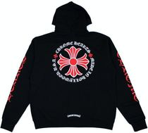 CHROME HEARTS Street Style Collaboration Cotton Hoodies
