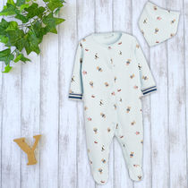 NEXT Organic Cotton Co-ord Baby Boy Bodysuits & Rompers