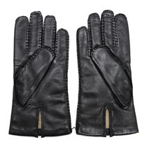 DENTS Wool Plain Leather Bridal Leather & Faux Leather Gloves