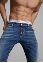 D SQUARED2 Tapered Pants Denim Street Style Jeans