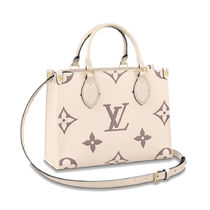 Louis Vuitton Monogram Casual Style 2WAY Leather Party Style Elegant Style
