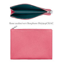 HERMES Yachting Leather Clutches