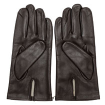DENTS Silk Plain Leather Bridal Leather & Faux Leather Gloves