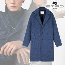 ETRO Other Plaid Patterns Wool Bridal Chester Coats