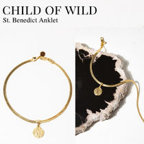 Child of Wild Costume Jewelry Casual Style Unisex Coin Party Style Anklets