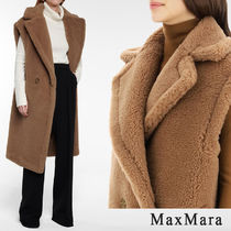 MaxMara MANUELA Casual Style Street Style Long Party Style Fur Vests