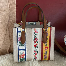 Tory Burch Casual Style Canvas 2WAY Party Style Office Style