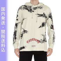 GIVENCHY Street Style Long Sleeves Cotton Logos on the Sleeves Logo