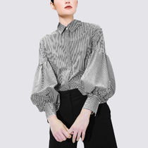 Casual Style Long Sleeves Office Style Elegant Style