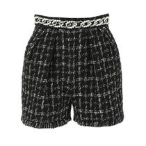 ELISABETTA FRANCHI Short Other Plaid Patterns Casual Style Wool Cotton