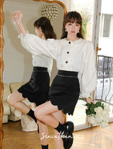 Since Then Short Casual Style Blended Fabrics Plain Party Style