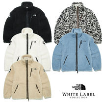 THE NORTH FACE RIMO Short Casual Style Unisex Street Style Shearling Logo