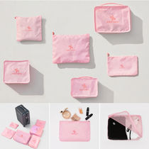 XEXYMIX Unisex Street Style Icy Color Travel Accessories