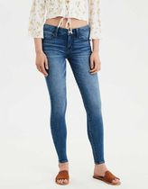American Eagle Outfitters Unisex Denim Street Style Plain Long Skinny Jeans