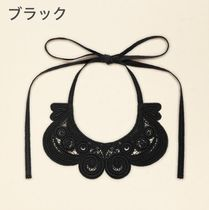 PATOU Flower Patterns Casual Style Elegant Style Collars