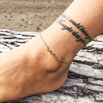 Casual Style Unisex Chain Party Style Elegant Style Anklets