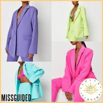 Missguided Casual Style Street Style Plain Medium Party Style Oversized