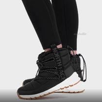 THE NORTH FACE Mountain Boots Casual Style Street Style Plain Shearling