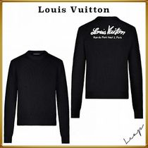 Louis Vuitton Long Sleeves Cotton Luxury Sweaters
