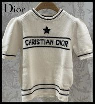 Christian Dior 'christian dior' short-sleeved sweater