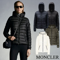 MONCLER FLAMMETTE Short Casual Style Blended Fabrics Street Style Office Style