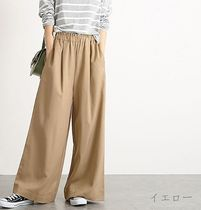 Casual Style Plain Long Oversized Formal Style